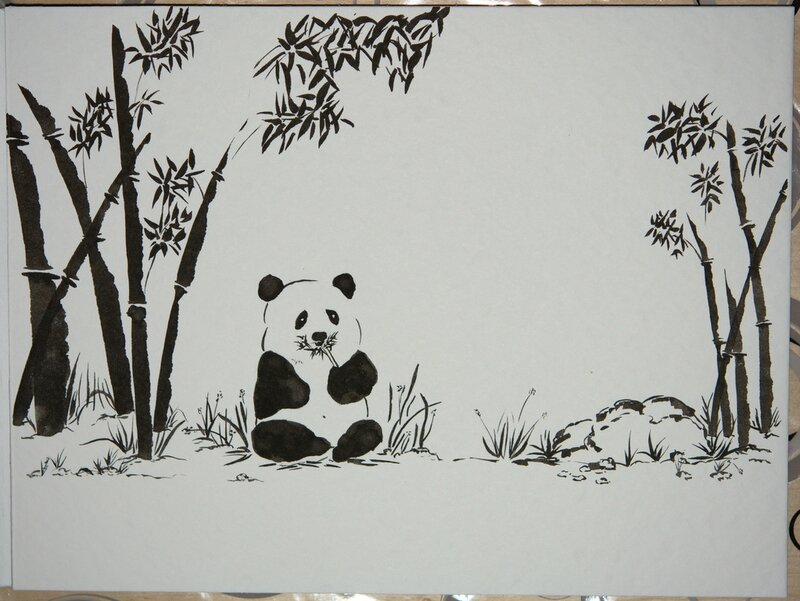 Pandi Panda grandira !