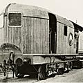 Au havre dès 1892 : une ancêtre des locomotives diesel/électrique et du spacetrain