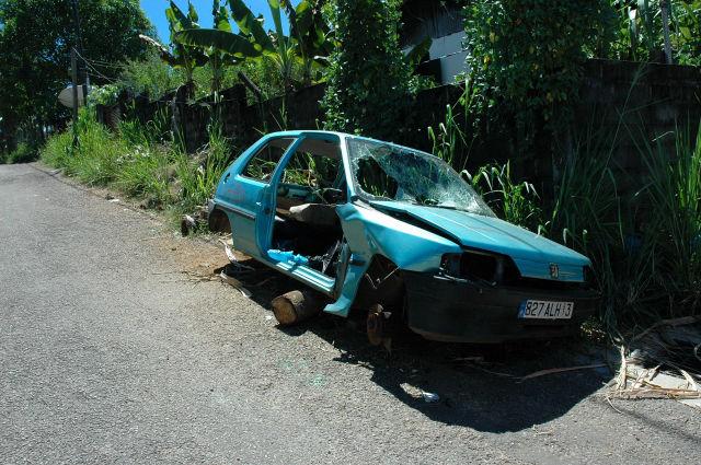 La danse folle d'une voiture, rue Mazurka