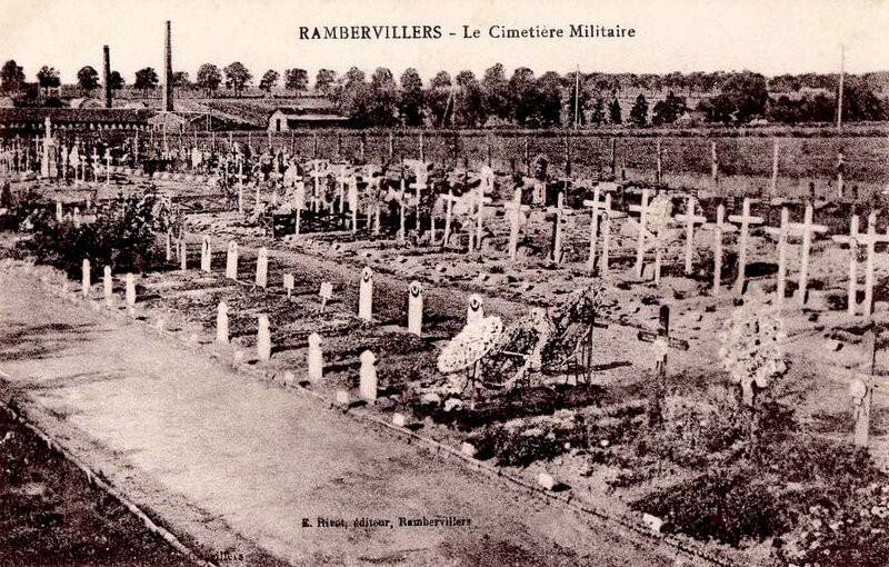 Rambervillers, cimtière militaire (2)
