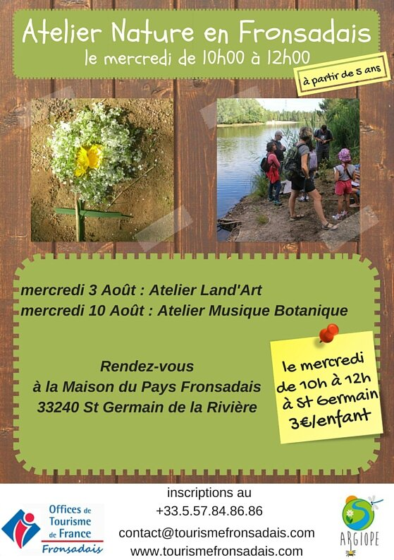 Copie de Copie de Ateliers Nature