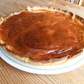 *** tarte aux poires-chocolat et mascarpone ***