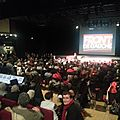 500 personnes au meeting du front de gauche du 13 mars pour lancer la campagne contre l'austérité