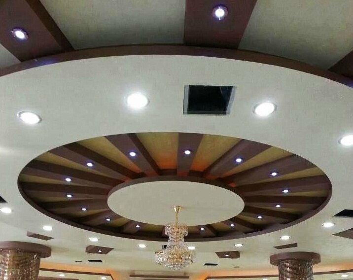La décoration de Plafond en Platre suspendu - Maroc artisanat