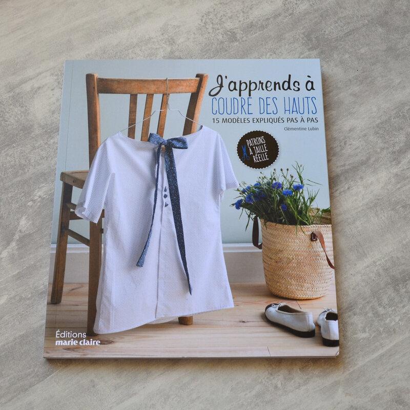 Chemise bleue à petit plis-couture-La chouette bricole (9)