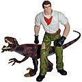 Dr. Alan Grant & Velociraptor