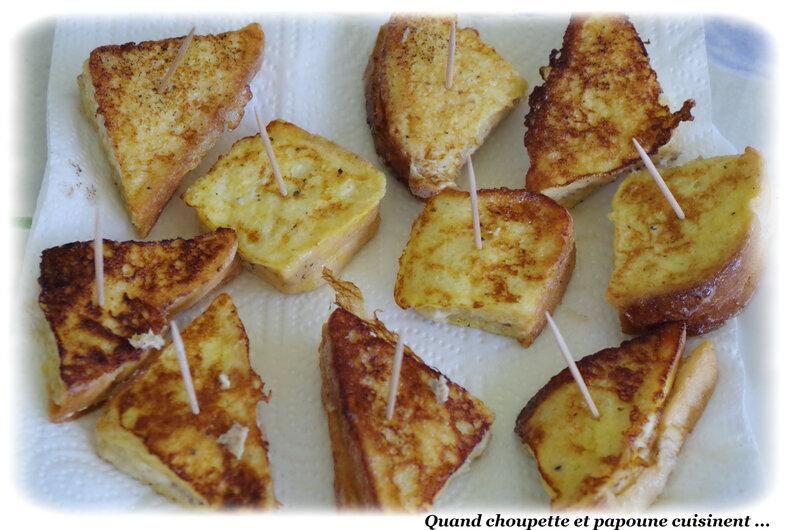 bouchées de pain perdu aux sardines-9860