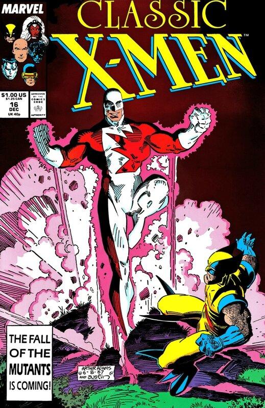 classic x-men 016
