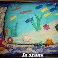 Gâteau fond de mer