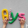 alys, mot en tissu,mot decoratif,cadeau de naissance,decoration chambre d'enfant,cadeau personnalise,cadeau original,poc a poc blog