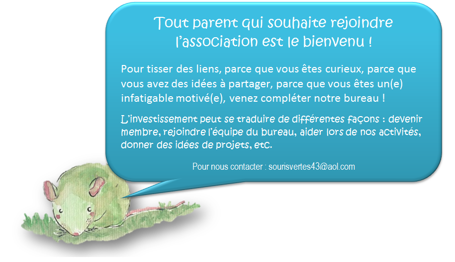 Bureau 2013/2014 : appel aux parents motivés!