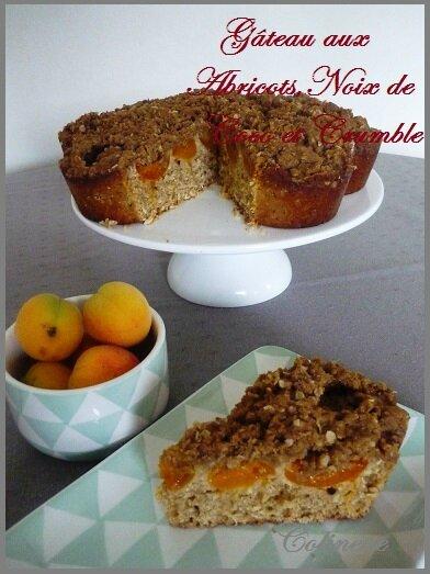 gateau abricots noix de coco et crumble 02