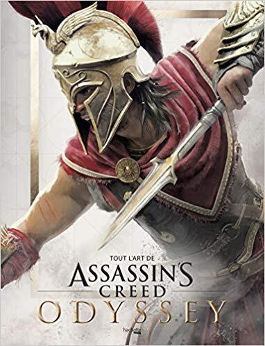 |Beau Livre| Tout l'art de Assassin's Creed Odyssey de Kate Lewis