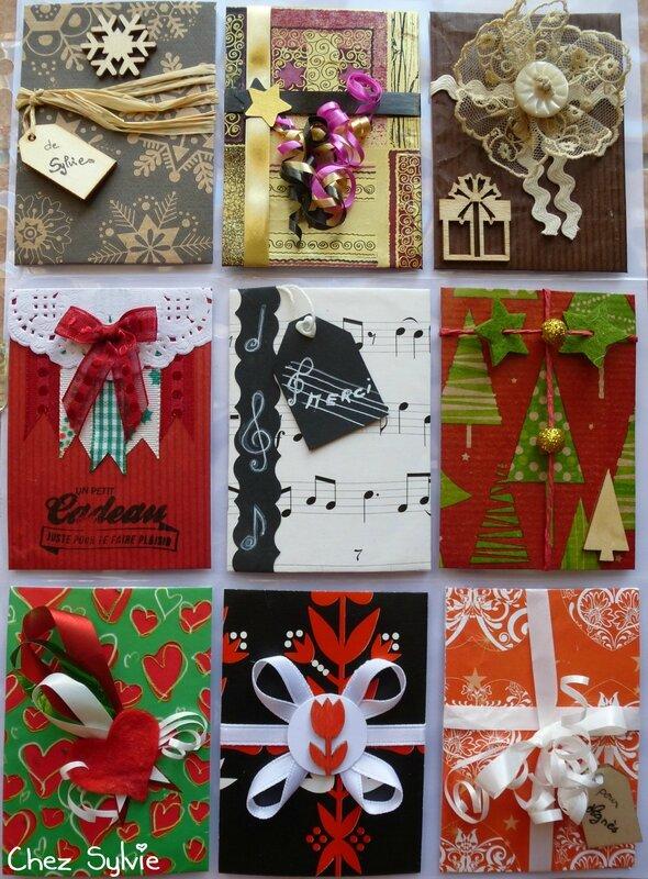 PL12 Paquets cadeaux