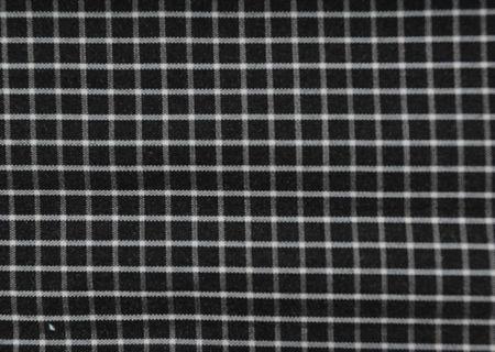 tissu carreau noir