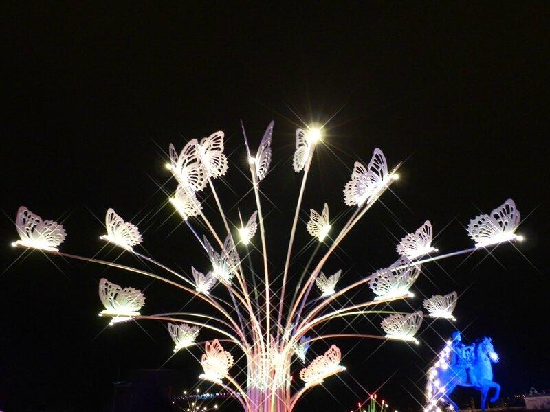 arbre papillons Louis XIV