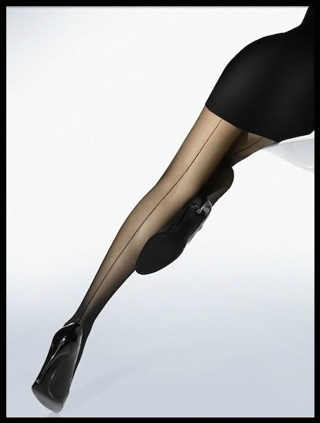 wolford collant individual 10 back seam 1