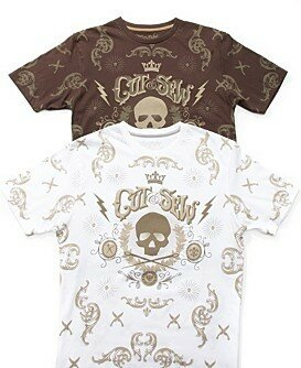 Marc Ecko Cut & Sew Cigar Box Short Sleeve Tee