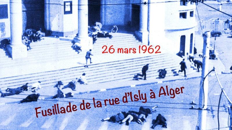 rue d'Isly, 26 mars 1962