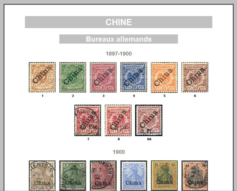 CHINE BUREAUX ALLEMANDS
