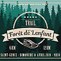 Trail à st-gence : 14 avril 2019