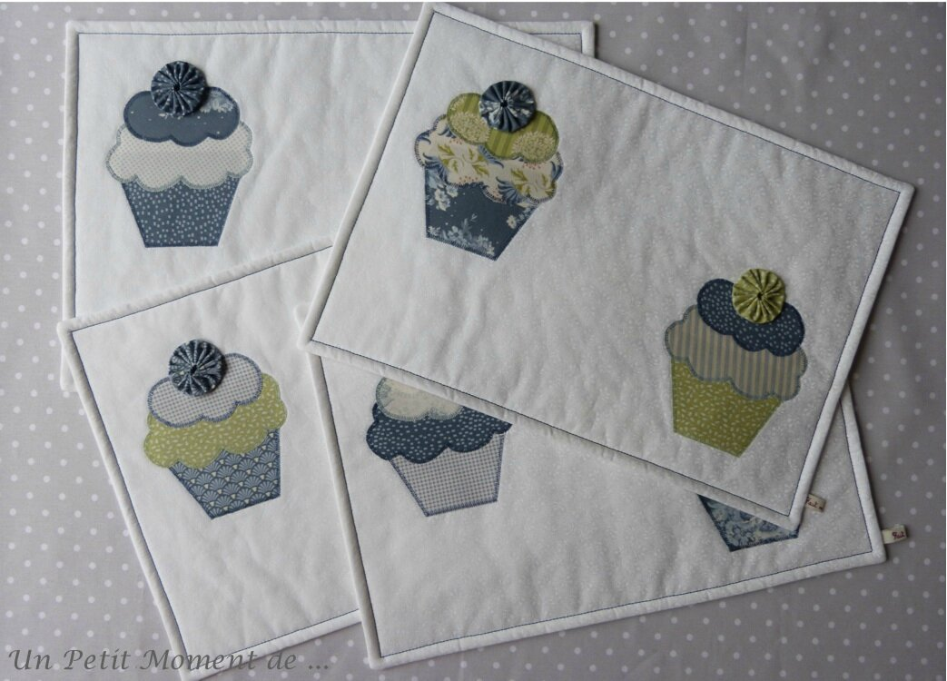 Ensemble de sets cupcakes 4