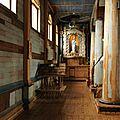 Chiloé Ile de Quinchao église d'Achao intérieur