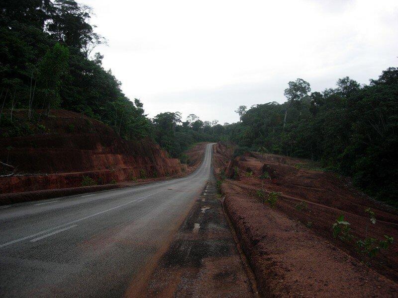 Route de Cayenne à St Georges