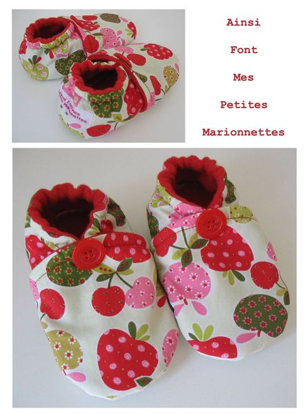 chaussons fruits