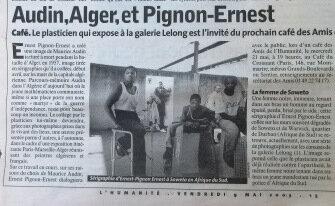 Audin et Pignon-Ernest