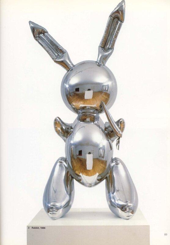 Jeff Koons ,Rabbit,1986