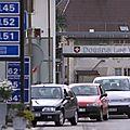 Contrôlés à la frontière suisse avec la panoplie du parfait braqueur