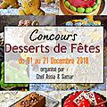 Dessert de fêtes : premières participations