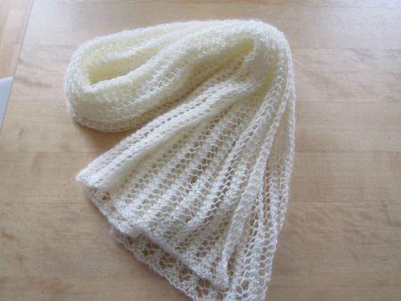 one row scarf