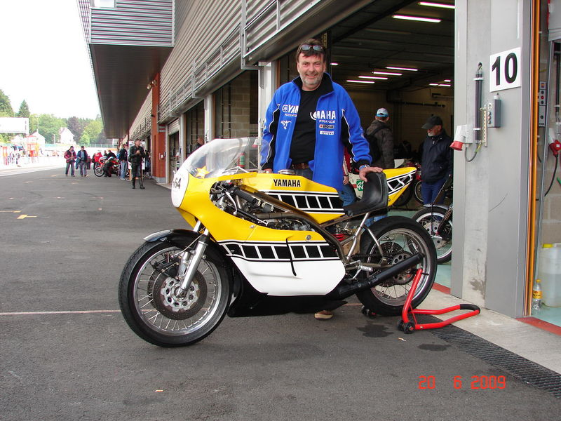 La Yamaha 750 TZ à Bruno