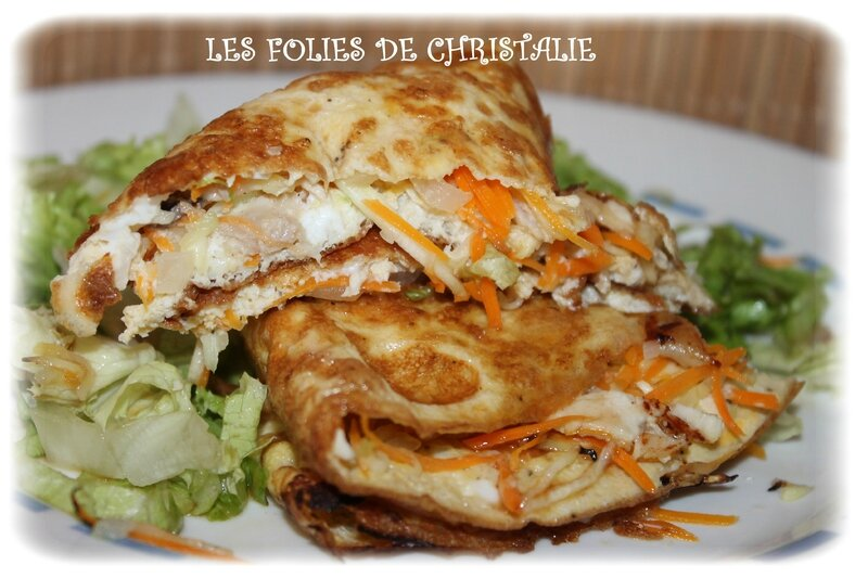 Omelettes chinoises 9