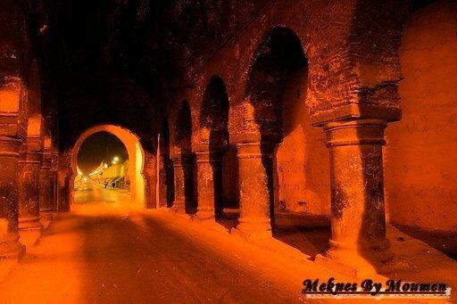 Meknes by night