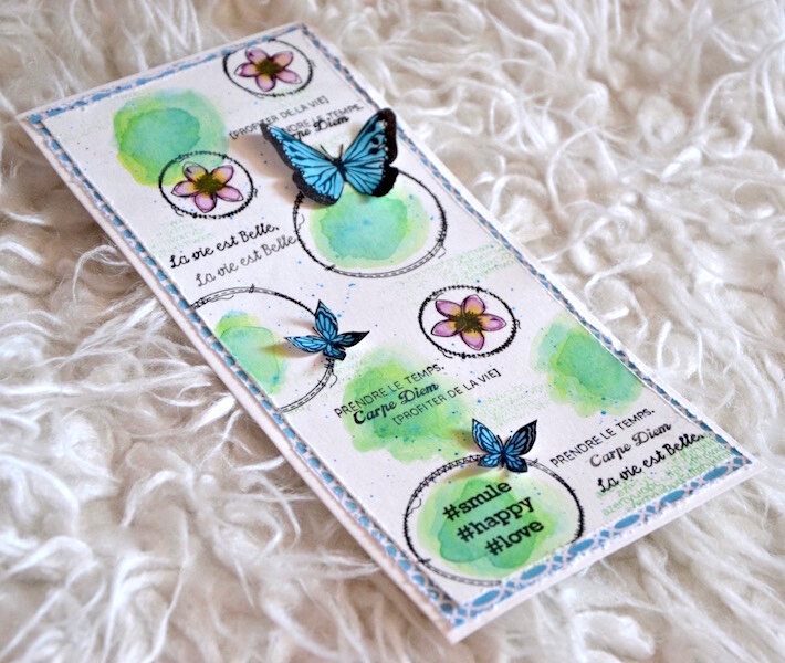 Carte d'anniversaire Lolotte 2 - Lift de carte mai 2018 de Made in Scrap