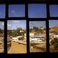 Vue sur la gare routière d'Harar