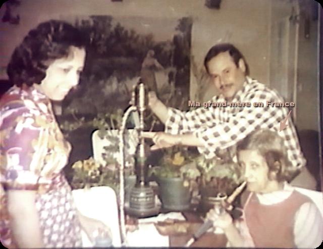 Ma grand-mère, ma mère et mon oncle