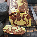 Marbré vanille/chocolat & noisette #vapeur #glutenfree