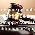 Problèmes de justice