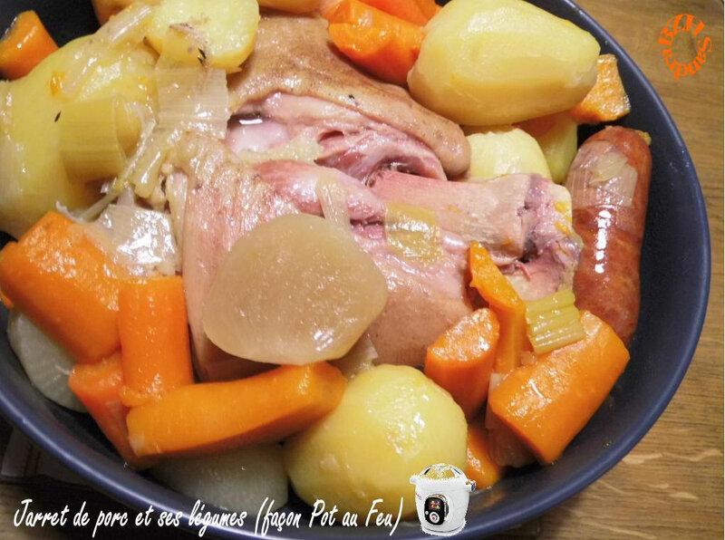 1020 Jarret de porc et ses légumes (façon Pot au Feu) CK Couv