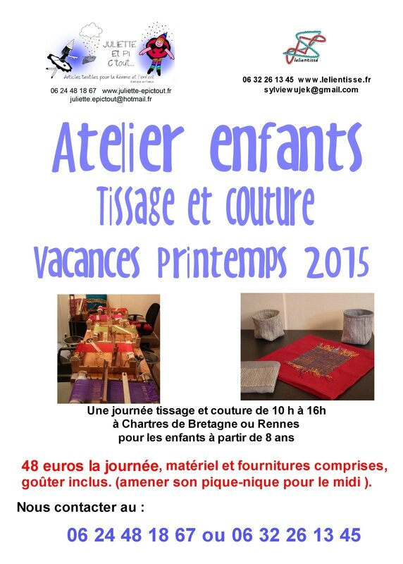 atelier couture tissage (page 1)