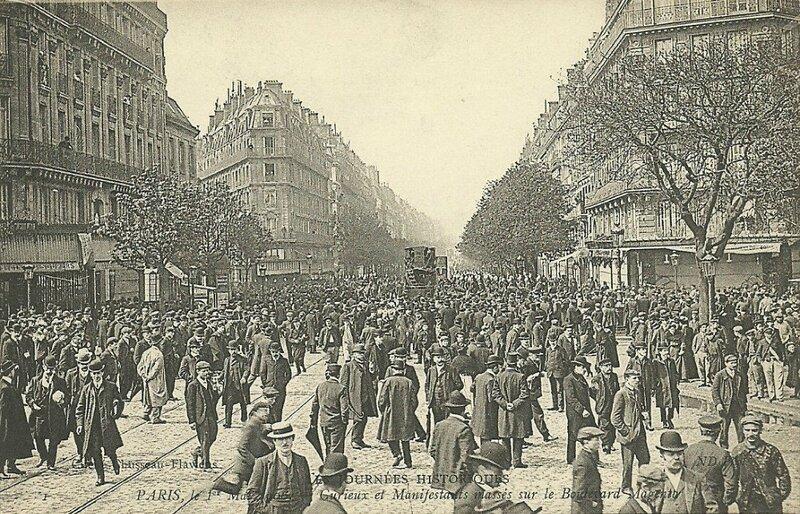 CPA Paris Manifestation 1er mai 2
