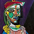 Powerful depiction of picasso's 'golden muse' emerges onto the market for first time