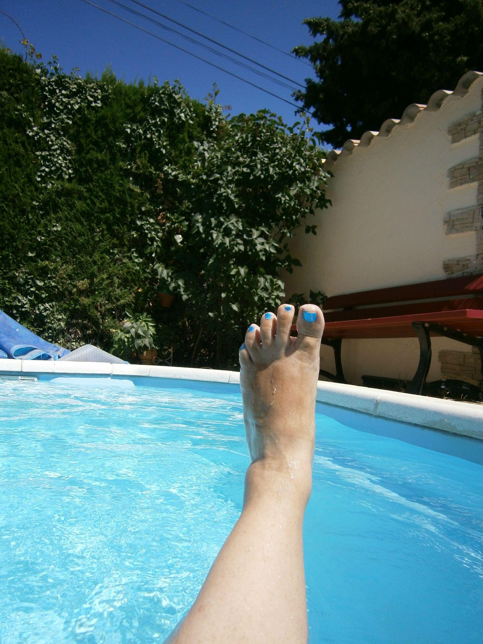 Moi A La Piscine ouahhhh la piscine à 32 ° !!!! - le défi de laurencedu13