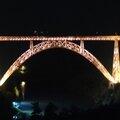 Viaduc de Garabit - la nuit -