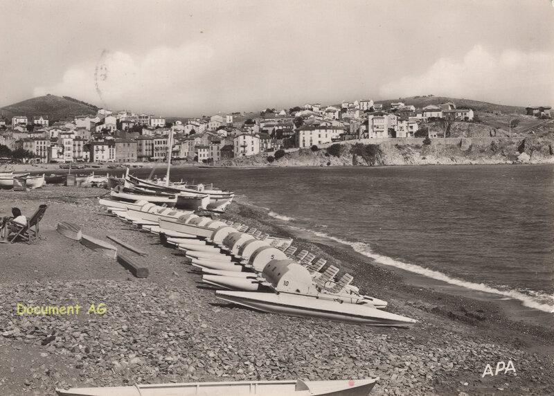 812 Vue de la Plage - Au fond, le Cap Doune 1958