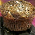 Muffins chocolat et noix